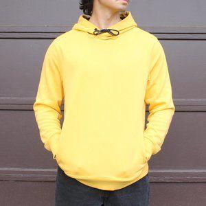 h&m banana yellow hoodie